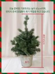 [더,오래] 간단한 소품들로 귀여운 크리스마스트리 만들기