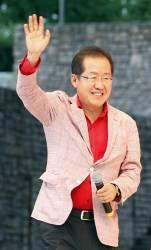 """홍준표 """"<!HS>박근혜<!HE> 전 대통령, 어떻게 '내가 시켰나요'라고 말할 수 있나"""""""
