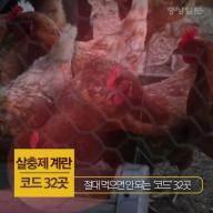 [카드뉴스] 절대 먹으면 안 되는 살충제 계란 '코드' 32곳