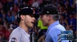 """""""다른 일이나 찾아봐"""" 심판에 폭언한 MLB 선수 '벌금 1140만원'"""