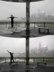 [서소문사진관]위험천만 <!HS>태풍<!HE>에 맞서기…제13호 <!HS>태풍<!HE> 하토 홍콩ㆍ마카오 상륙 피해 속출