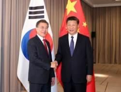 "<!HS>시진핑<!HE> 주석, 문재인 대통령에 ""이견 타당하게 처리"""