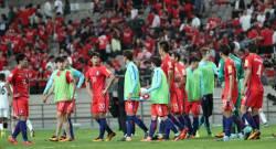 <!HS>시리아<!HE>-이란에 가슴 쓸어내린 45분...한국, 월드컵 본선행 가능해졌다