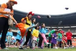 [서소문사진관]외국인근로자 가족의 가을운동회