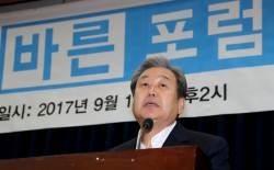 """<!HS>김무성<!HE> """"文정부, 무능의 극치…보수·우파 대결집해야"""""""
