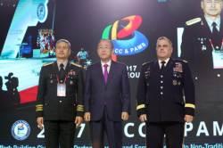 고고도미사일(THAADㆍ사드) 배치 결정 후 첫 중국 고위 장성 방한