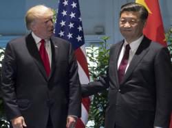 """트럼프-<!HS>시진핑<!HE> 통화 """"북한에 대한 최대압박 약속"""""""