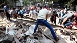 """[속보] 외교부 """"멕시코 <!HS>지진<!HE>, 우리 국민 1명 시신 확인"""""""