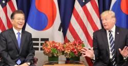 트럼프 대통령 11월 방한, 문 대통령과 세번째 <!HS>정상회담<!HE>