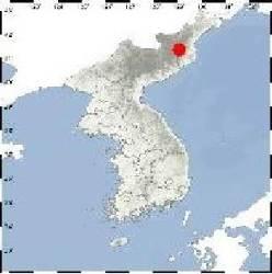 북한 핵실험장 인근에 규모 2.7 <!HS>지진<!HE>