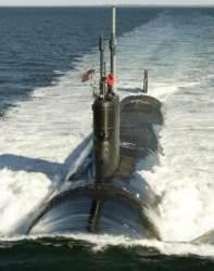 미 해군 최신예 핵 추진 잠수함 '사우스타코타함'진수