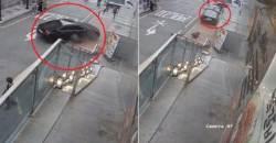 강남역 사고 직전, 인도로 돌진했던 운전자 영상
