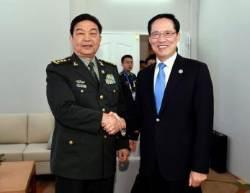 사드 갈등 이후 2년 만에 한ㆍ중 국방 장관 회담 열려