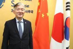"""[단독]이종헌 TCS 신임 사무총장 """"한중일 협력, 양자관계 개선 기회"""""""