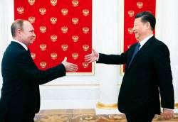 트럼프·<!HS>푸틴<!HE>, 시진핑 연임에 축전