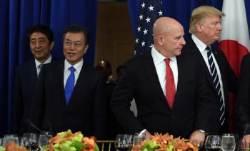 """아베 그림자 달고 한국 오는 트럼프...""""한미일 공조 확인해야"""""""