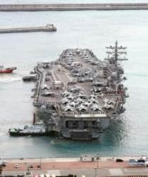 미 3개 항모전단 동해 집결…트럼프의 대북 경고 메시지