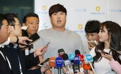 """성공적 복귀 이룬 <!HS>류현진<!HE> """"몸 상태 100점, 부상 없이 마쳐 만족"""""""