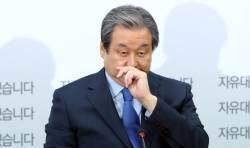[포토사오정]'떠난 자'와 '남은 자', <!HS>김무성<!HE>·유승민 의원 표정