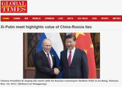 APEC서도 밀착한 중러…시진핑, <!HS>푸틴<!HE> 가장 먼저 만나