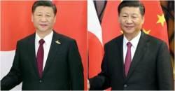 아베 보고 4개월 만에 웃은 <!HS>시진핑<!HE>