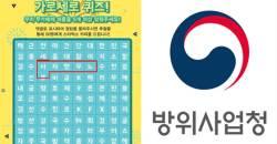 '<!HS>노무현<!HE>자살' 방사청 퀴즈 이벤트 문구 논란