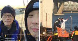 Infinite Challenge Returns to Air…Cast Members Spotted in Han Gang