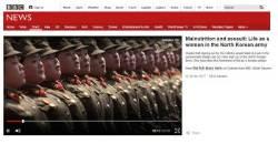 """""""고된 생활에 생리도 안해"""" 외신들 북한군 인권실태 조명"""