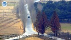 북한군 귀순 동영상, 뭔가 다른 CCTV..영화같은 장면 어떻게