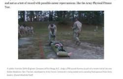 미 육군, 체력검정 확 바꾼다…타이어 뒤집기, 마네킹 끌기를 잘해야