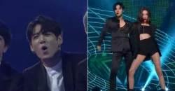 BTS JUNGKOOK Caught On Camera Watching SUNMI X TAEMIN At '2017 MAMA'
