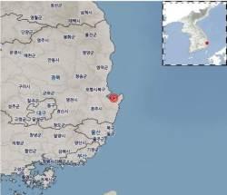 """포항 동쪽 해역서 규모 2.1 <!HS>지진<!HE>…""""여진 아닌 듯"""""""