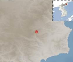 """北 함북 길주군 인근서 규모 2.8 <!HS>지진<!HE>…""""6차 핵실험 영향"""""""