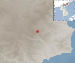 9일 오후 북한 핵실험장 인근에 규모 3.0 <!HS>지진<!HE> 발생