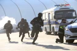 [서소문사진관]테러? 꿈도 꾸지마! 안전 올림픽 위한 대테러훈련 실시