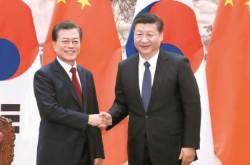 """""""한국의 타당한 처리 희망""""…시진핑, 사드 입장 재천명"""