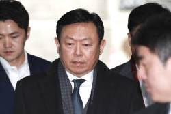 국정농단 '70억 뇌물공여' <!HS>신동빈<!HE> 징역 4년·추징금 70억 구형