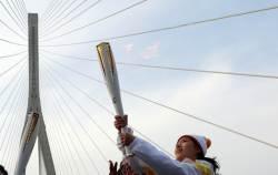 4300여명 이은 평창올림픽 성화, 60일간 1118km 달렸다
