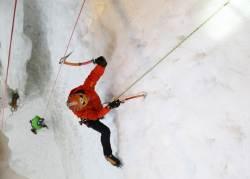 [week&] 한겨울에 진땀 나네 … 아웃도어 왕초보의 빙벽 등반기