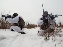 제2 장진호 전투는 없다…한ㆍ미 해병대, 평창서 겨울철 훈련
