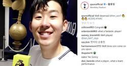 '최우수 선수' <!HS>손흥민<!HE>, 공식 '맨 오브 더 매치'…EPL 메인 장식