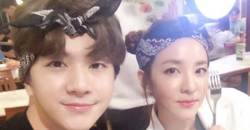 """""""Is this really him?"""" SANDARA PARK's Little Brother and Ex-MBLAQ Member CHEONDUNG"""