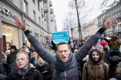 [사진] '<!HS>푸틴<!HE> 대항마' 나발니 반정부 시위