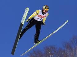 46세 '스키점프 장인' 가사이, 그가 날면 역사가 된다