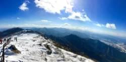 [더,오래] 덕유산서 만끽한 이 겨울 마지막 눈꽃산행