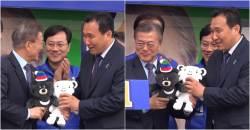 '윤성빈 스승' 강광배, <!HS>문재인<!HE> 후보 유세차에 올랐던 사연