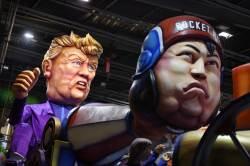 [서소문사진관]김정은과 트럼프,세계 카니발 축제 단골손님