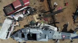 [서소문사진관]<!HS>지진<!HE>피해시찰 나선 멕시코 장관 탑승 헬기추락…13명 사망