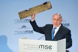 """이스라엘 """"이게 격추한 이란제 <!HS>드론<!HE> 부품"""" vs 이란 """"거짓말"""""""