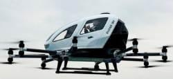 '하늘 나는 택시' 개발 경쟁 뛰어든 중국…드론 택시 현실화될까